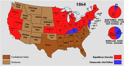 kentucky election map abraham lincoln s blind memorandum and the 1864 election