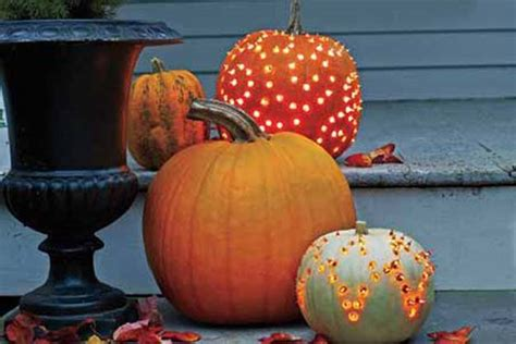 45 pumpkin decorating projects a life of simple joy 40 cool diy ideas with string lights