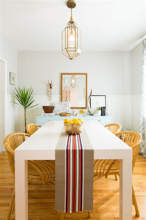 designer home   airy dining room  eclectic