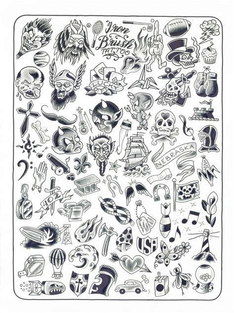 tattoo flash bank november 2012 iron brush tattoo