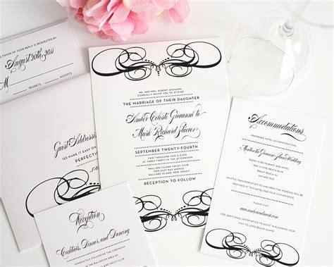 wedding invitation packages top album of wedding invitations packages theruntime