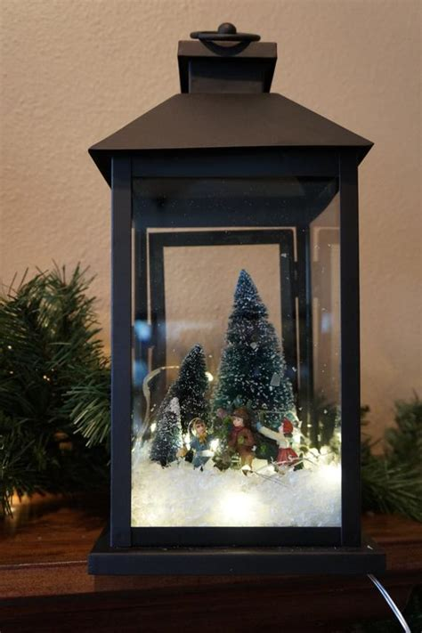 how to decorate christmas lanterns items similar to lantern or lantern lantern with lights or
