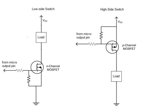 persamaan transistor a564 high voltage pmos transistor 28 images mosfet high side driver and low side driver