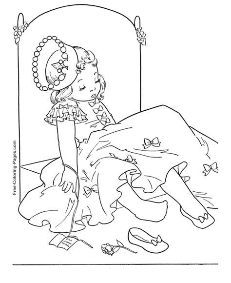generic princess coloring pages princess coloring sheets 21