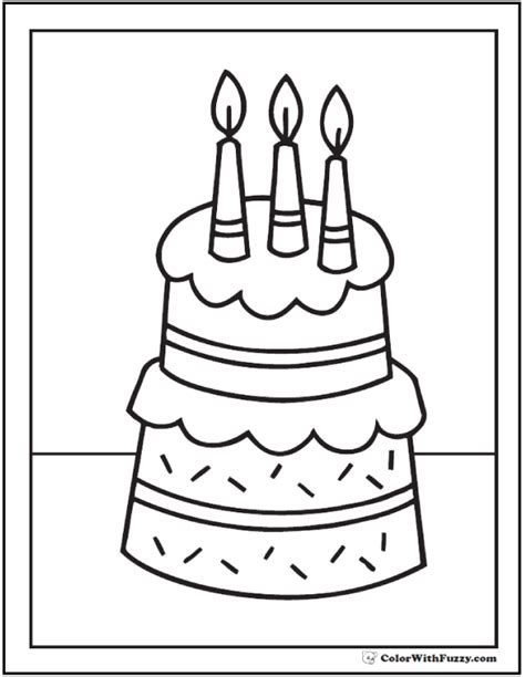 cake coloring pages pdf 87 free coloring page of a birthday cake download