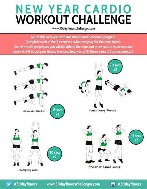 270 best images about monthly fitness challenges on