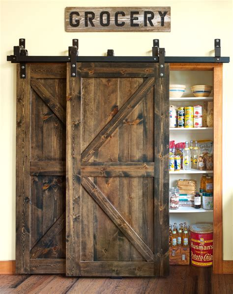 Pantry Barn Doors 10 Ways To Create A Colorful Vintage Style Kitchen Minwax Barn Doors And Vintage Kitchen
