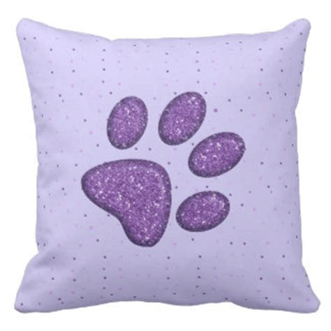 Pillow Paw In Cats by Zazzle Pet Pillows Zazzle Pet Throw Pillows Zazzle