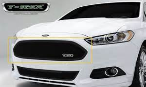 2013 Ford Fusion Grill 2013 2015 Ford Fusion T Rex Class Mesh Grilles