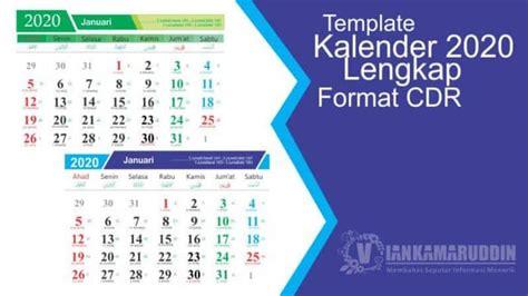 template kalender  lengkap format cdr vian kamaruddin website