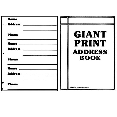 address book large print address book 8 5 x 11 size alphabetical with 300 spaces for names phone numbers addresses emails birthdays and more books maxiaids print refills