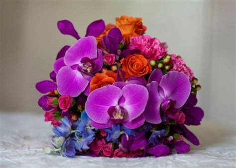 Bright Wedding Flower Picture by Picture Of Beautiful Bright Summer Wedding Bouquets
