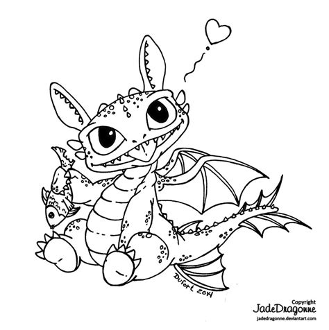coloring pages of baby toothless baby toothless by jadedragonne on deviantart