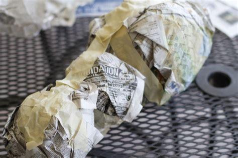 Paper Mache Process - pakky105 paper mache animal heads