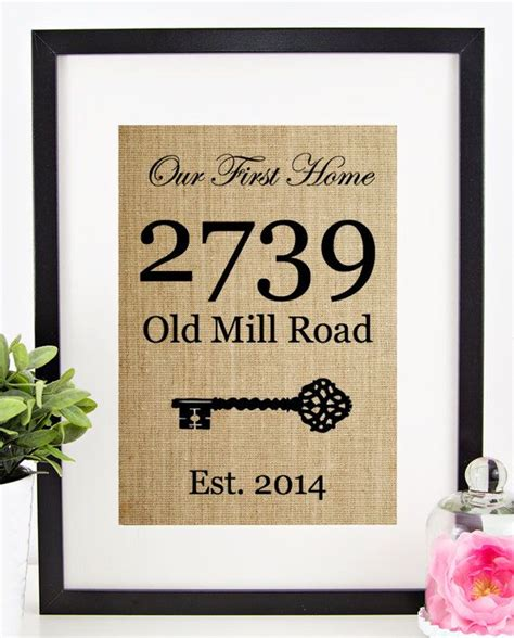 first home housewarming gift new home housewarming gift our first home sign house