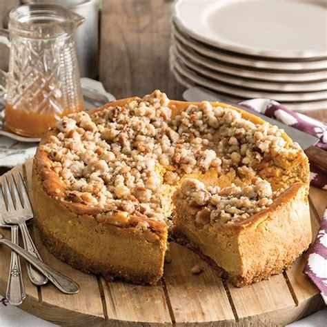 pumpkin streusel cheesecake paula deen magazine