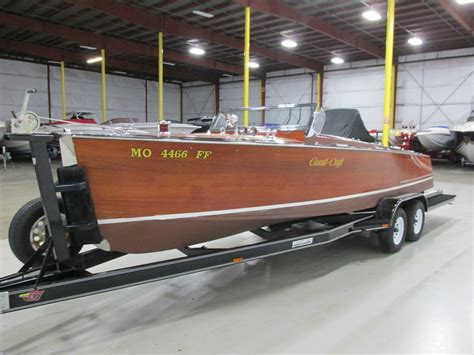 specified woodworking grand craft 25 wood boat 1999 for sale for 30 000 boats