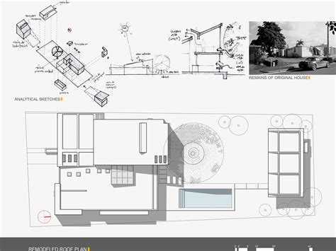 Architectural Plans Gallery Urbana Alhambra Roof Plan Sketches Architecture Design