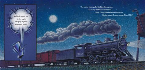 locomotive picture book steam book review