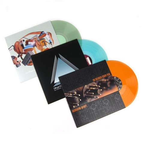 calculating infinity the dillinger escape plan colored vinyl lp album pack