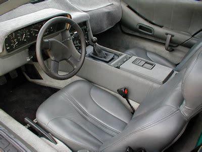 delorean interior voitures et automobiles la delorean dmc 12