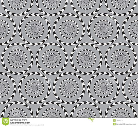 optical pattern vector optical illusion vector seamless pattern stock vector