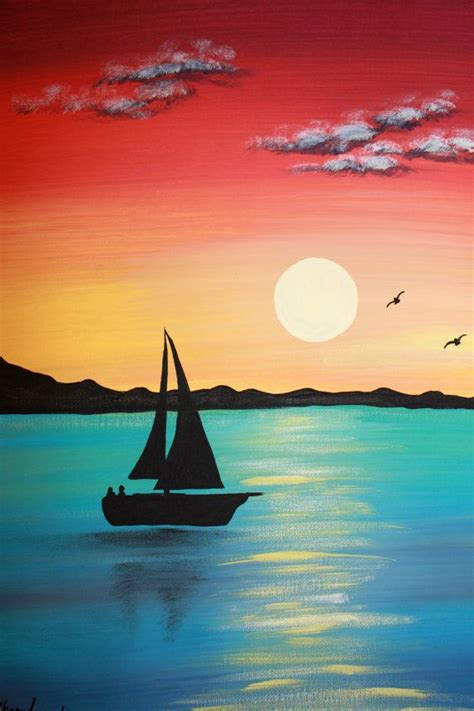 painting ideas easy 25 best ideas about acrylic painting canvas on