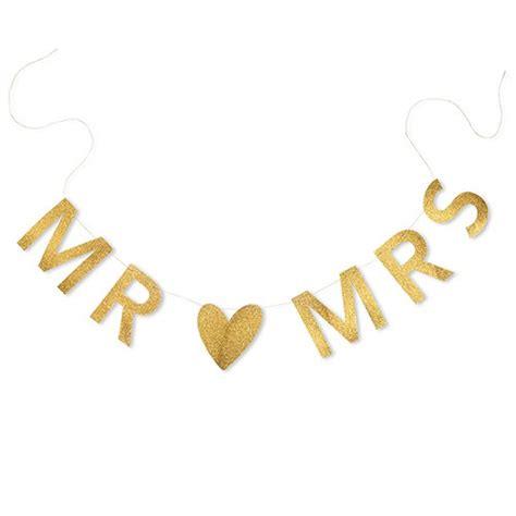 Wedding Banner Mr And Mrs by Wedding Banners Signs Confetti Co Uk
