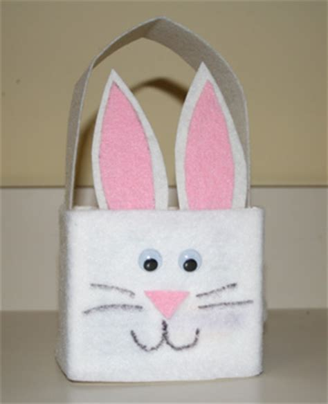 Easter Basket Craft by Preschool Crafts For Kids Milk Carton Easter Bunny