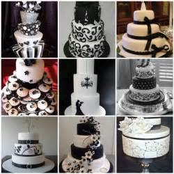 black and white wedding ideas black white wedding cakes here comes the
