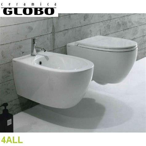 sanitari bagno globo 4all globo coppia sanitari sospesi 4all ceramica