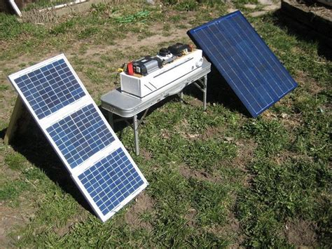 best portable solar generator on the market choosing best