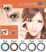 Celline 2tones icontact igossip color contact lenses of 5 stylish 2 tones color enhanced and create the most