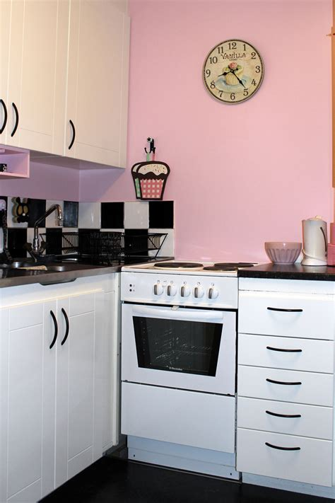 white kitchen cabinets small kitchen delectable small pink kitchen with pink wall paint color