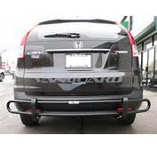 Rear Bumper Guard Double Tube BLK  Auto Beauty Vanguard