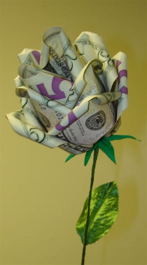 Money Origami Roses - arts craft folding money origami 171 embroidery origami