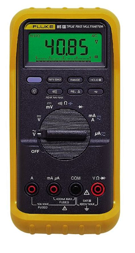 Multimeter Fluke 83 fluke 83 iii multimeter from cole parmer