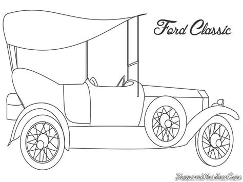 o ford free coloring pages