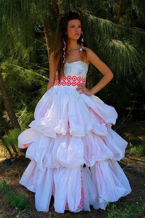recycled dress design 86 best trash bag and paper glam images on pinterest