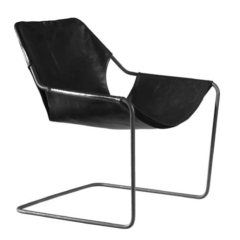 Paulistano Armchair by Paulistano Leather Armchair By Objekto