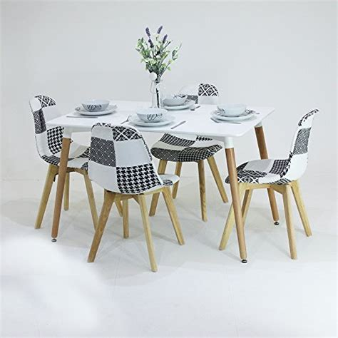 p n homewares p n homewares 174 fabia dining set 1 esstisch und 4 fabia