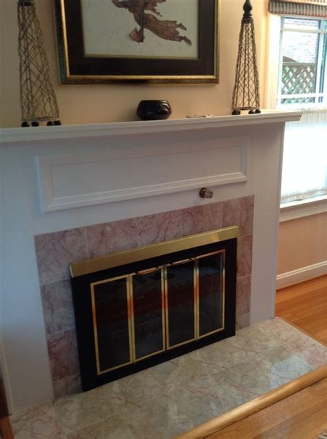 Can You Paint Tile Around Fireplace by Can You Paint The Tile Around A Fireplace