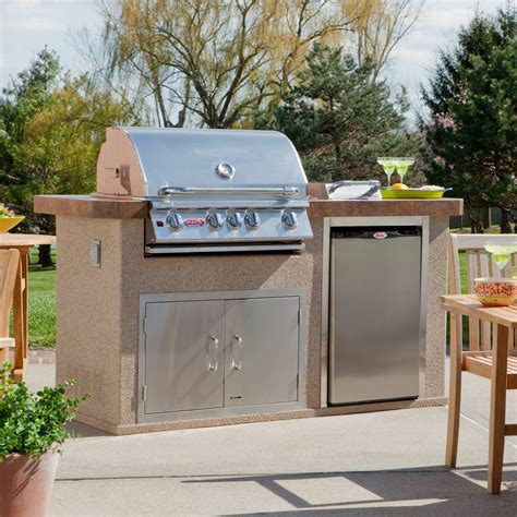 Bull Power Q Grill Island   Outdoor Kitchens at Hayneedle