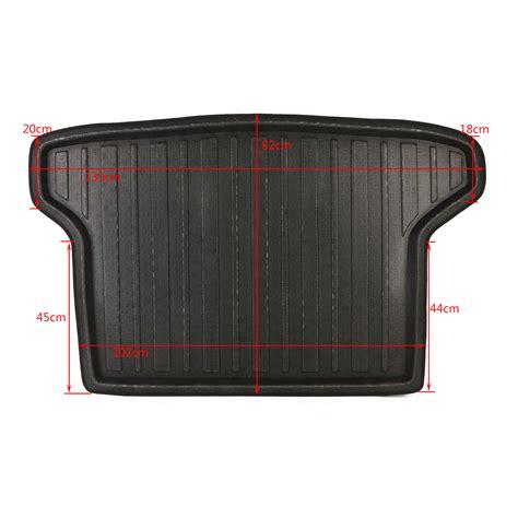 Trunk Tray Honda Hr V rear trunk tray boot liner cargo mat floor for honda hr v
