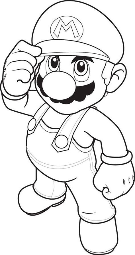 mario coloring pages free online all mario character coloring pages coloring home