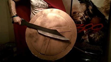 How To Make A Spartan Helmet Out Of Paper - quot 300 quot spartan costume