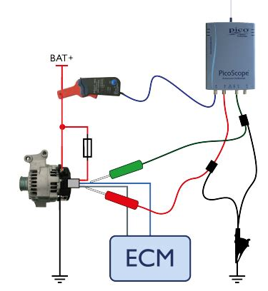 automotive alternator wiring automotive alternator