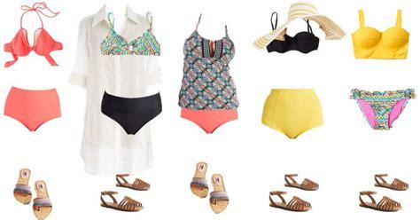 modcloth mix and match wardrobe modcloth summer swimwear mix match fashion a few shortcuts
