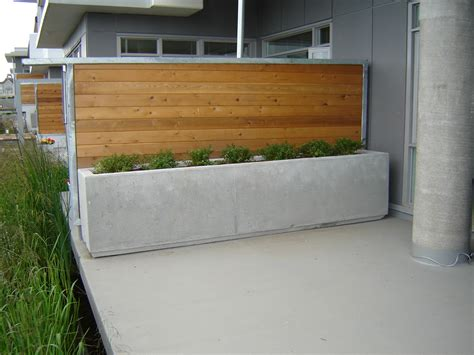 Precast Concrete Planter by Barrier Rectangular Planter Mackay Precast Products