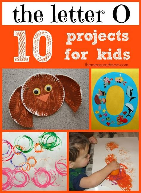 crafts for kindergarten best 25 letter o crafts ideas on letter o